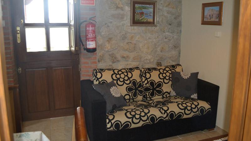 Salón Apartamento Rural El Rincón del Oteru II