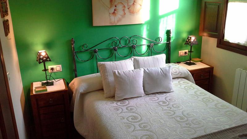 Dormitorio Apartamento Rural El Rincón del Oteru II