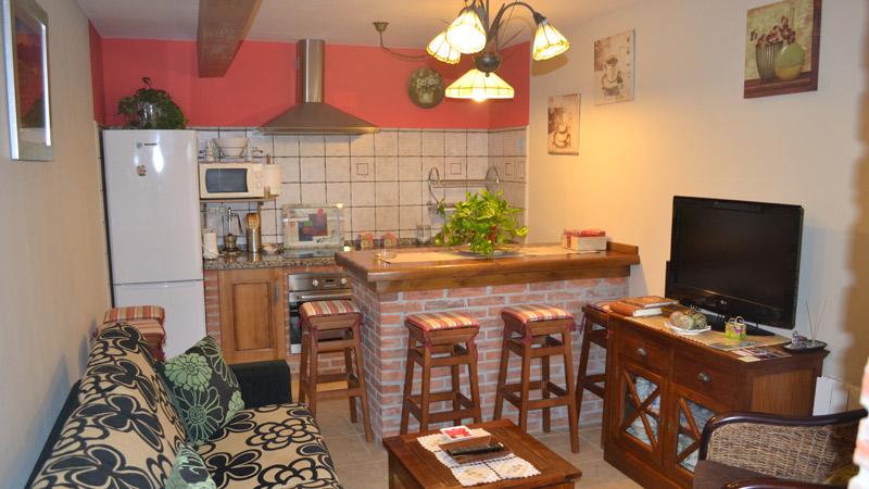 Cocina Apartamento El Rincón del Oteru I